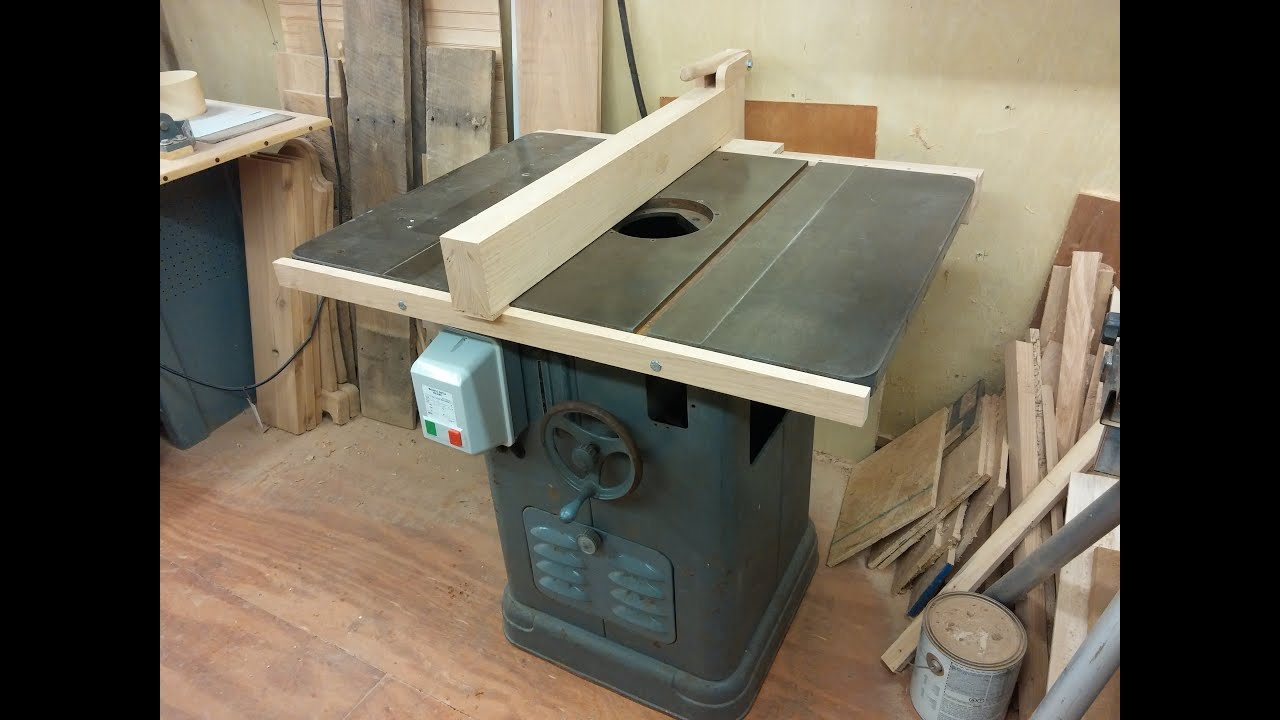 My Homemade Shaper Or Table Saw Fence Biesemeyer Style