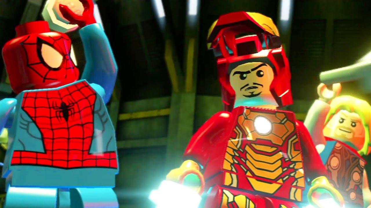 Lego Marvel Super Heroes 10 Homem De Ferro Homem Aranha