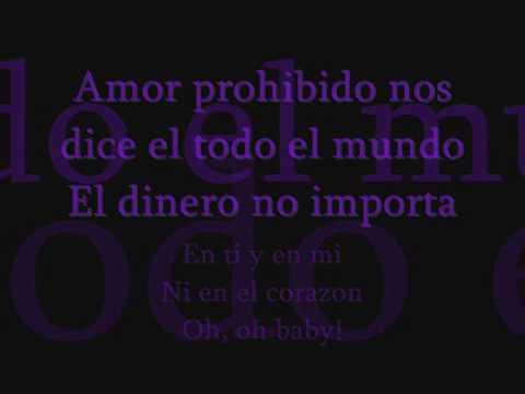 selena amor prohibido-lyrics