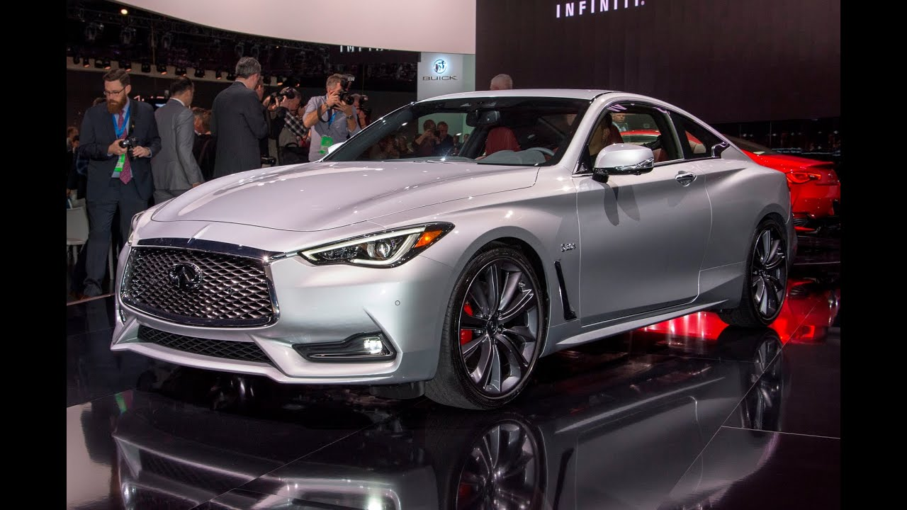 2017 Infiniti Q60 Coupe V6 400 Hp