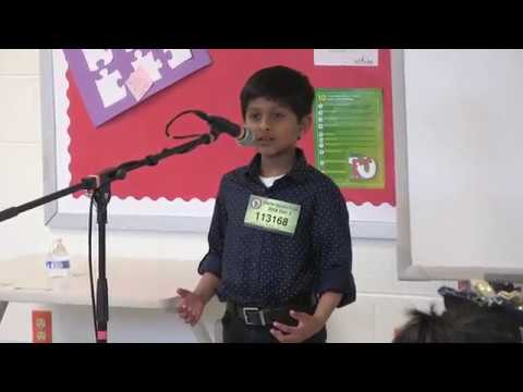 Nathan Xavier - KAGW Talent Time 2018 Public Speaking English