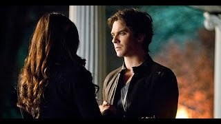 "Delena 6x20 - ""I feel like I wanna kiss you"" (Damon + Elena TVD)"