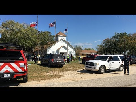 🔴 BREAKING NEWS: Texas Church Shooting, Over 20 Dead - LIVE COVERAGE