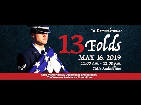 2019 May 16th, Veterans Memorial Day Program