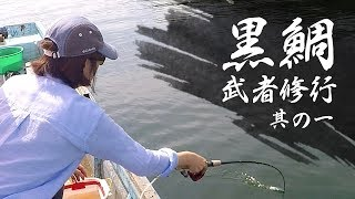 【黒鯛武者修行#1】盛夏の英虞湾・田畑渡船(钓黑鲷・감성돔낚시)