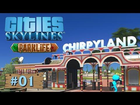 Cities Skylines: Parklife #01: Endlich Ein Neues DLC [Let's Play][Gameplay][German][Deutsch]