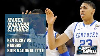 Kentucky vs. Kansas: 2012 National Championship | FULL GAME