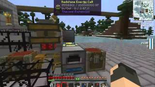 Tekkit Space - Part 96 - Building Up The Brick Factory!