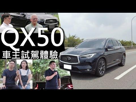 【超越車訊】【First Drive】INFINITI QX50競品車主試駕!
