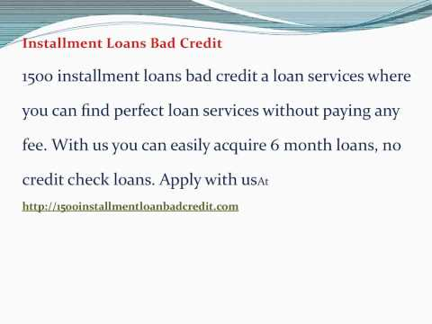 Loans For Bad Credit from YouTube · Duration:  1 minutes 26 seconds