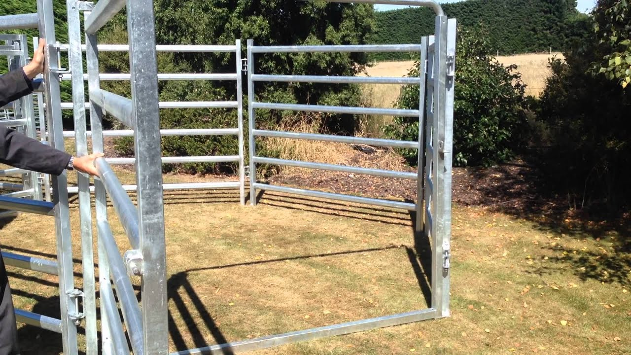 Cattle Yard Gate Youtube