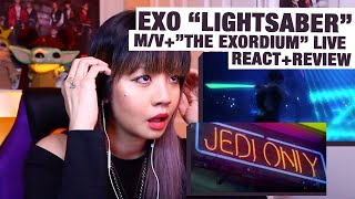 OG KPOP STAN/RETIRED DANCER reacts+reviews EXO \Lightsaber\ M/V+Live at Exordium