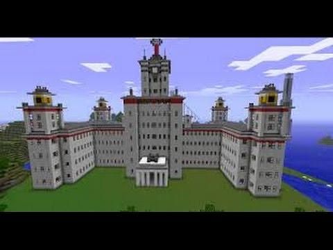 كيف تصنع قصر في ماين كرافت