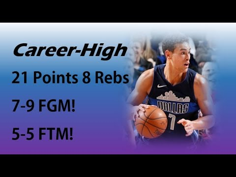 Dwight Powell Career-High 21 Points 8 Rebs 2 Asts vs Warriors | Jan 03, 2018