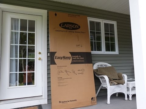 Larson Storm Door Installation Highlights Signature