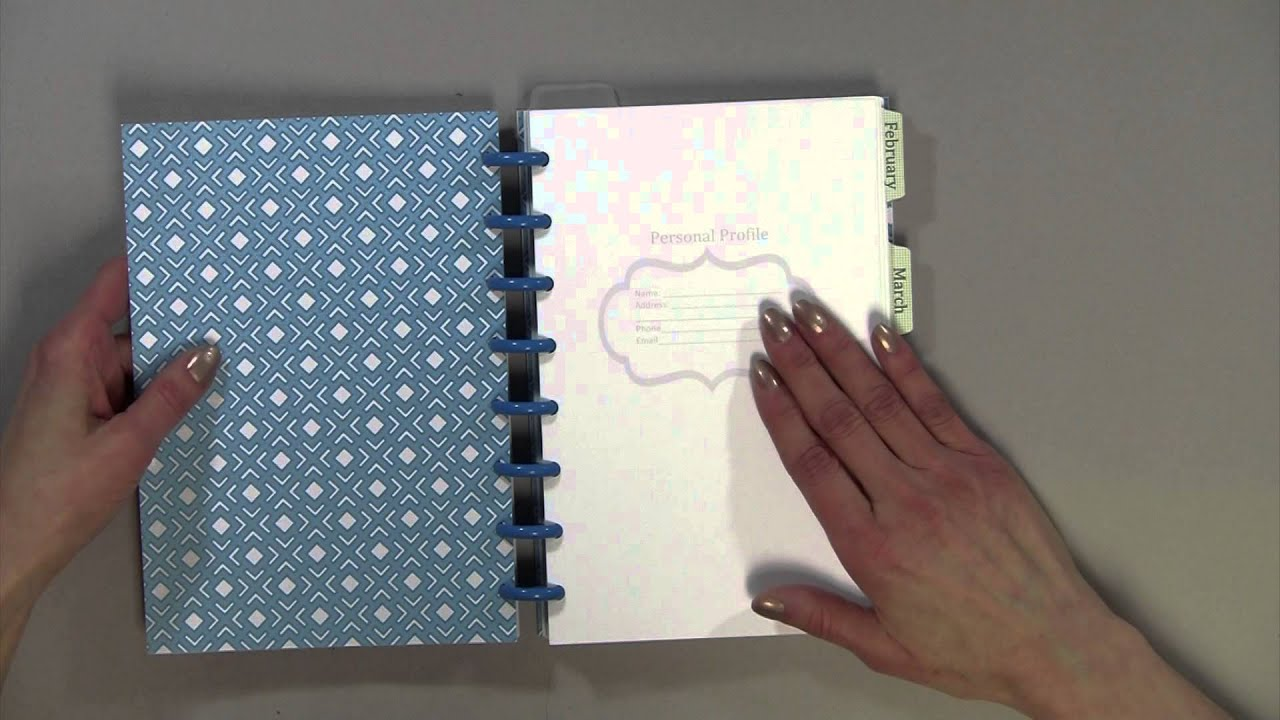 How to Make Your Own Personal Planner - YouTube