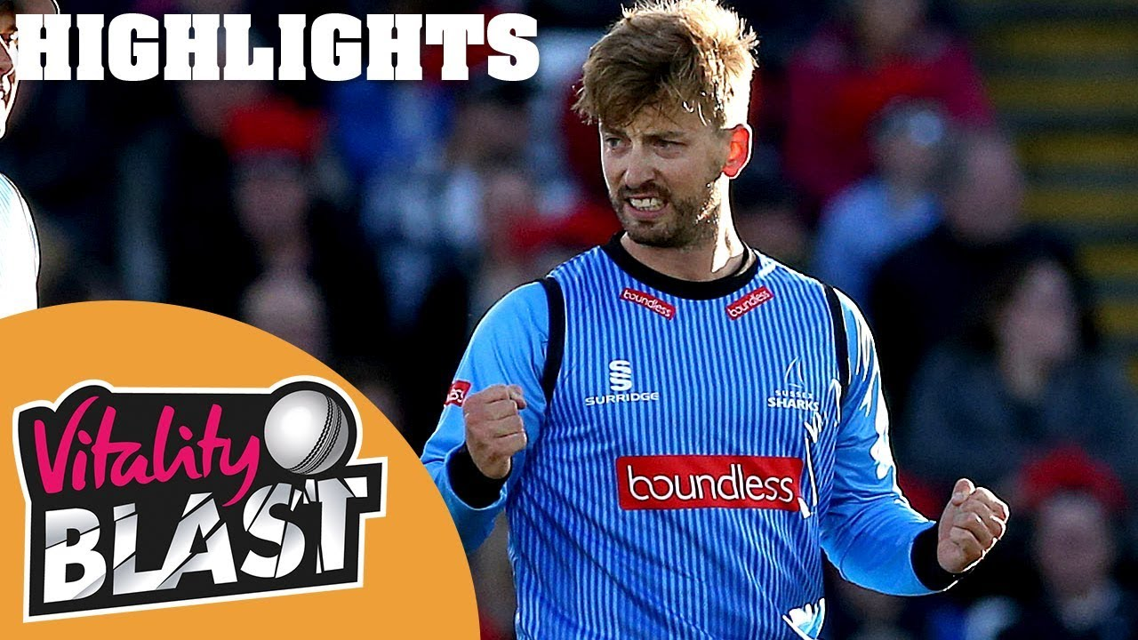 Sussex beat Durham by five wickets!   Durham Jets v Sussex Sharks   Vitality Blast 2018 - Highlights