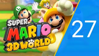 Super Mario 3D World: MegaToad Strikes Back! - PART 27 [100% Run] [Wii U]