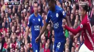 Manchester United Vs Leicester City 4-1 All Goals And Extended Highlights 2016