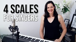 Four Beginner Scales for Singers
