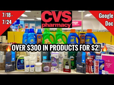 CVS Free & Cheap Coupon Deals & Haul   7/18 – 7/24   Money Makers!   $340 IN PRODUCTS FOR $2 🙌🏽