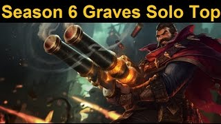 """Bruiser"" Graves Solo Top Rework Gameplay - New Graves can basically go anywhere..."