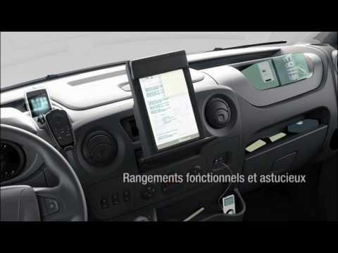 Renault master interior