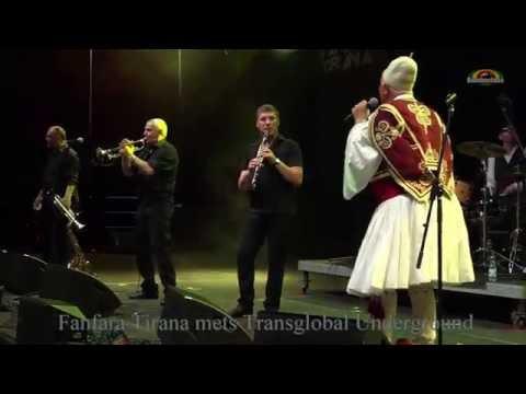 Fanfara Tirana mets Transglobal Underground -Live @ WrocLove Fest 2016