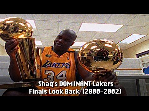 Shaquille O'Neal's Epic Lakers Championship Look Back!