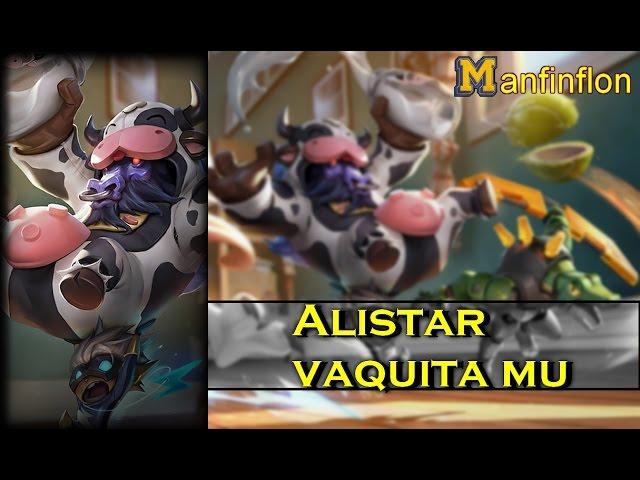 Alistar vaquita mu vs Rengar supp | Guia Alistar s7 support | RUNAS,BUILD, MAESTRIAS