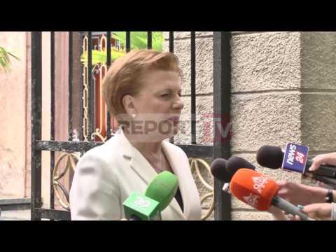 Report TV - Valentina Leskaj: Nuk kandidoj për deputete. U lë vendin të rinjve