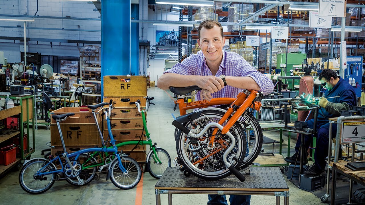 Brompton Bicycle's unfolding success