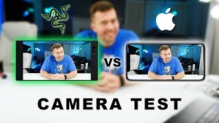 Razer Phone vs iPhone X Camera Test Review!