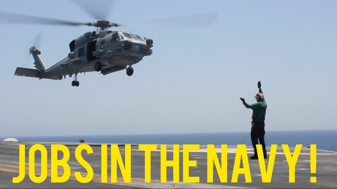 Jobs in the Navy (ABH, ABF, ABE) - YouTube