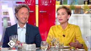 Kristin Scott Thomas et Stéphane Bern au dîner  - C à vous - 05/09/2017 streaming