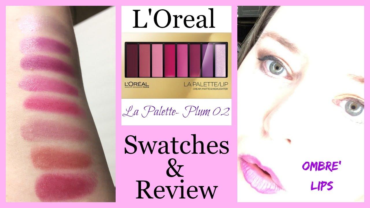 Color Riche La Palette Lip - Plum by L'Oreal #5