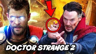 Doctor Strange 2 Movie News and Avengers 4 Endgame Trailer Logo Explained
