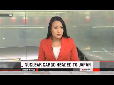 France Ships MOX Nuclear Fuel To Japan