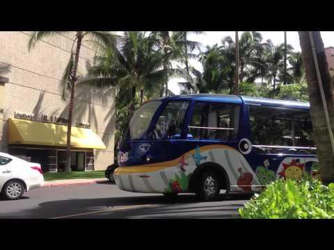 """Oli Oli Walker"" JTB Hawaii Visitor Transportation - Total Visual Branding"