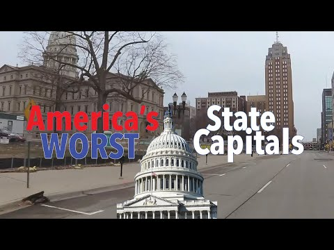 The 10 WORST STATE CAPITALS In AMERICA