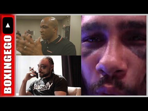 """ERROL SPENCE (TRAINER) """"WATCHED KEITH THURMAN GET BEAT UP BY DEMETRIUS ANDRADE"""" -DERRICK JAMES"""