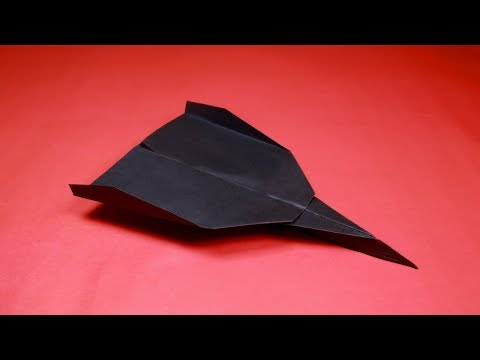 How to Make a FASTEST Paper Airplane that Flies Far