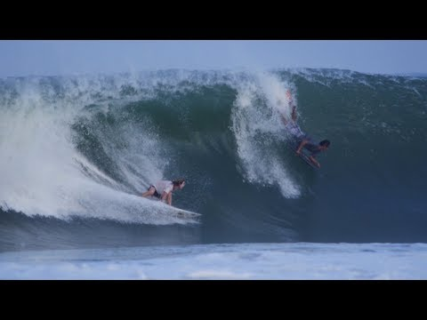 The Domke Daily 67: Surfing In Mexico | Barrel For Two? Barreled Deep Behind A Bodyboarder Epic Clip