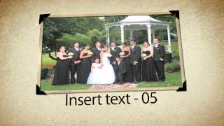 Sample video for your wedding album video from Forever Flawless Thumbnail