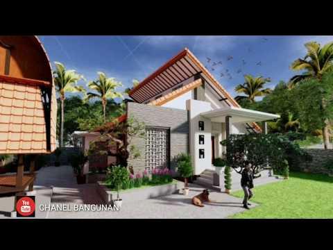 Model rumah mewah minimalis lantai 1