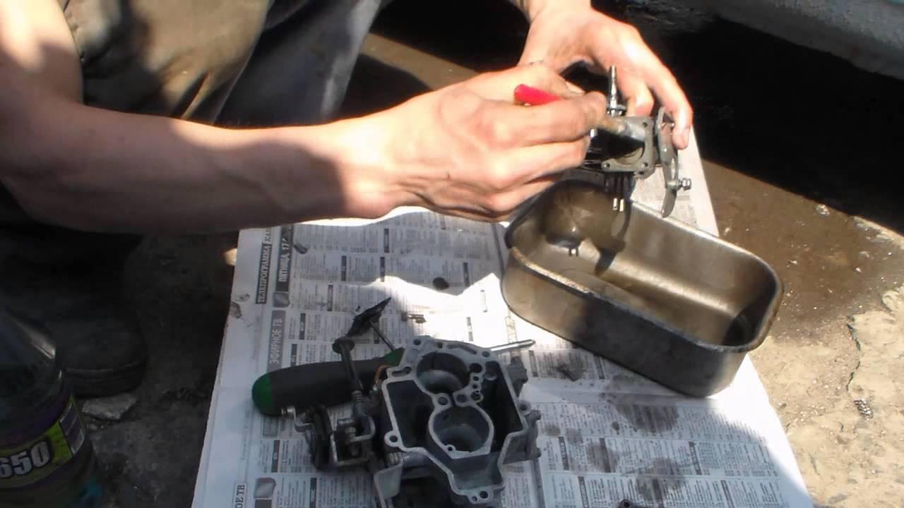 Ремонт карбюратора солекс своими руками фото 873