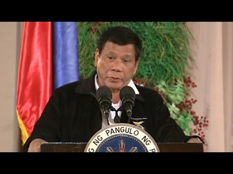 Philippines president recalls conversation with Donald Trump