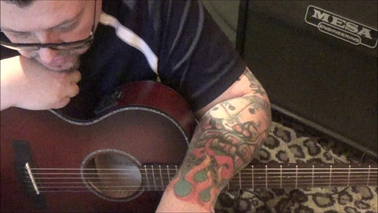 WALKER MCGUIRE - TIL' TOMORROW - CVT Guitar Lesson by Mike Gross