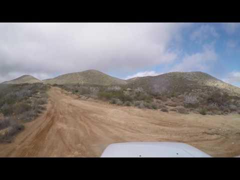 Oriflamme Canyon Trail -- Anza-Borrego Desert State Park, CA