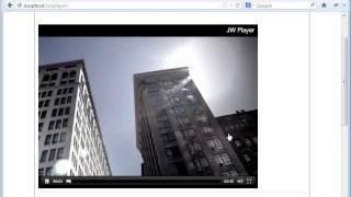 Установка видео плеера на сайте(Бесплатные уроки по созданию сайта тут: ..., 2013-03-31T12:13:25.000Z)